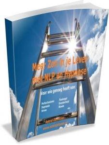 Meer Zon in je Leven met NLP en Hypnose - 3d E-cover gecomprimeerd mailchimp