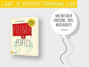 laat je perfectionisme los